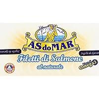 Asdomar – Roscas de salmón, al natural, 150 g