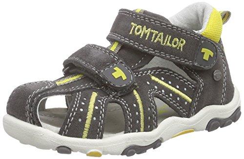 TOM TAILOR Kids Baby Jungen Kinderschuhe Lauflernschuhe, Grau (Grey-Yellow), 24 EU
