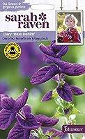 【輸入種子】 Johnsons Seeds Sarah Raven Cut flowers & gorgeous gardens Clary Blue Denim サラ・レイブン・カットフラワーズ クラリー・ブルー・デニム ジョンソンズシード