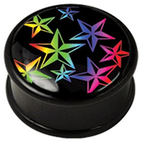 PMMA Ikon spina carne - Arcobaleno nautiche Stars 20mm
