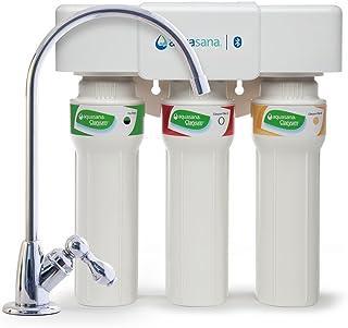 فلتر مياه AQ-5300+.56 من اكواسانا ذو 3 مراحل للتدفق تحت الحوض