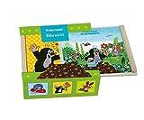 Trötsch Der kleine Maulwurf Bilderwürfel Holz, Würfelpuzzle Pauli, Puzzlespiele Mauli,...