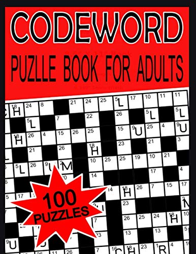 Codeword Puzzle Books for Adults: 100 Large Print Codeword Puzzles And Solutions Book For Adult And Senior | A Bumper Collection of Hugely Popular ... the Code Breaker and Solve the Puzzle