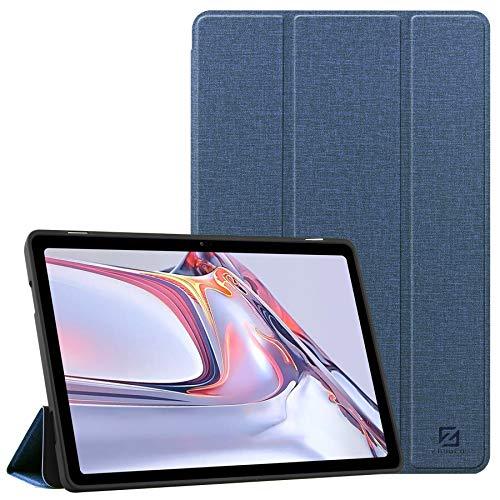 ZhaoCo Custodia Compatibile con Samsung Galaxy Tab A7 10.4 inch 2020, Custodia Sottile e Leggera Antiurto in Pelle per Tavoletta SM-T500   SM-T505 Colore Blu Navy