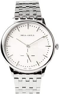 Seagull Ultra Thin 9mm Small Second Business Mechanical Wristwatch Manual Wind Simple Design Dress Watch Men D816.464