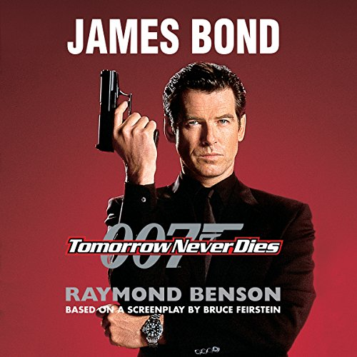 Tomorrow Never Dies audiobook cover art