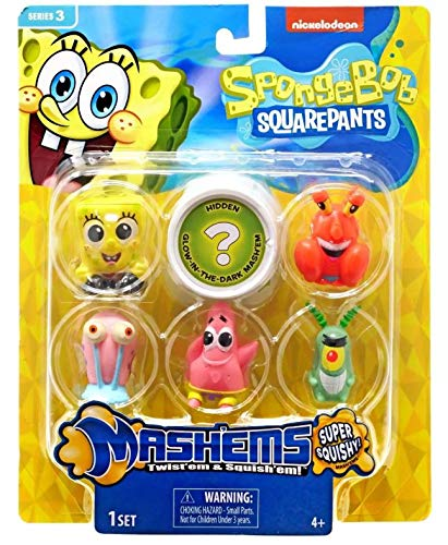 Basic Fun Mash'ems Sponge Bob Squarepants Series 3