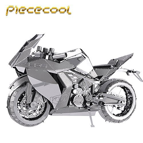 Piececool Motorcycle I P046-S Model 3D Metal Puzzle DIY Jigsaws Laser Cut Puzzle Toys