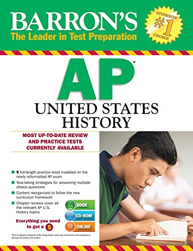 Barron's AP United States History with CD-ROM, 3rd Edition
