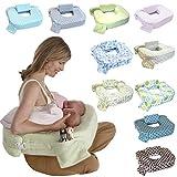 双子用授乳クッション 「日本正規品」「赤ちゃんの為に考えられた」産院で推奨されている ツインズサポートクッション 双子 授乳クッション マイブレストフレンド (ツイングリーン)