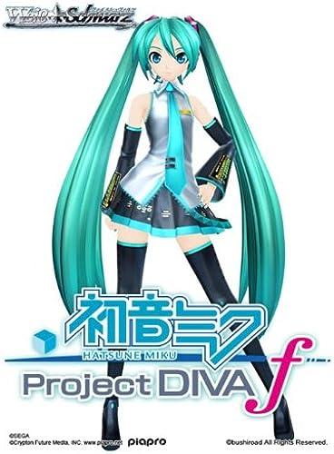 Bushiroad WS-BP-PDf-EN - Booster Display Hatsune Miku, Project Diva-F, 20-er Packung, Kartenspiel Englisch, Weiß Schwarz