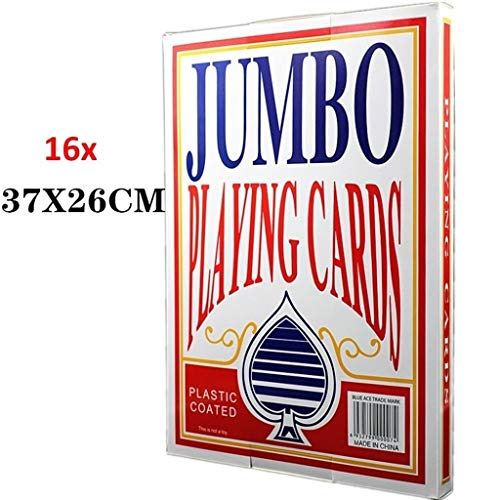 GHMOZ Naipes Gigantes - Naipes Jumbo De Novedad For Adolescentes O ...