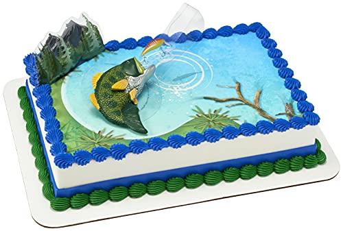 Catching the Big One Cake Decoration Set