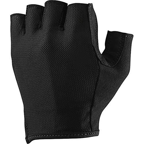 MAVIC Essential - Guantes cortos para bicicleta (talla XS), color negro