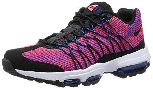 Nike Air MAX 95 Ultra JCRD, Zapatillas de Running Hombre, Azul/Negro/Rojo/Gris (Gm Ryl/Blk-Brght Crmsn-Anthrct), 40