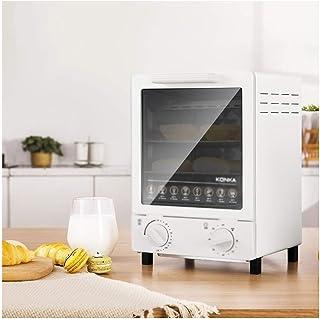 LYQ Hornos de Cocina con 3 Funciones de cocción, hornos tostadores, Mini Horno de 12L, Parrilla, tostadora, Control de Temperatura Ajustable y Temporizador