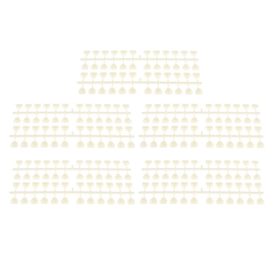 偏見レンド書誌B Blesiya 10枚 ネイルアートチップ カラーカード ネイルヒント ネイルポーランド ネイルサロン 3タイプ選べ - ハートシェイプ
