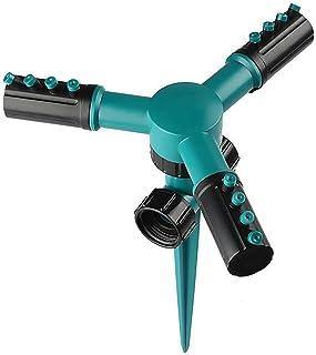 Automatic Garden Water sprinklers 360 Rotary Yard Irrigation Lawn sprinklers Plant Watering Equipment Water sprinklers q30