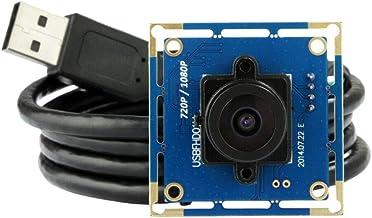 LIMEI-ZEN 2MP USB Camera Module Board OV2710 120Fps 1080P CMOS 2.1mm Lens 120° Lens Free Driver Relay Module