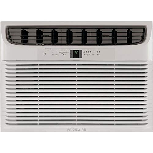 Frigidaire FHWE182WA2 18,000 BTU Window Air Conditioner with Supplemental Heat and Slide Out Chassis, 17.000, White