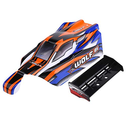 Jadpes RC Rally Car Shell Body, RC Rally Car Shell Accesorio para 1/10 8133/8131/8138 RC Rally Car Shell(#1)