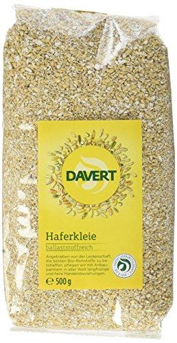 Davert Haferkleie, 4er Pack (4 x 500 g) - Bio
