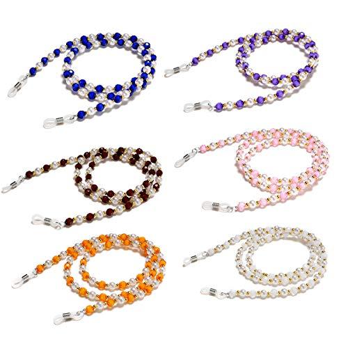 Beaded Eyeglass Chain Holder Sunglass Holder Strap Eyewear Retainer Lanyard Cord