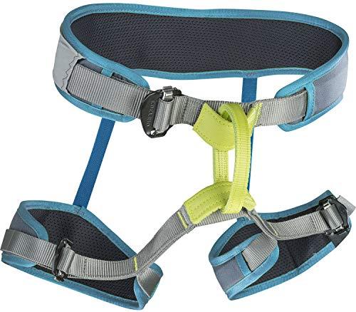 EDELRID Zack Gym Blau-Grau, Klettern, Bouldern und Slackline, Größe S-M - Farbe Turquoise