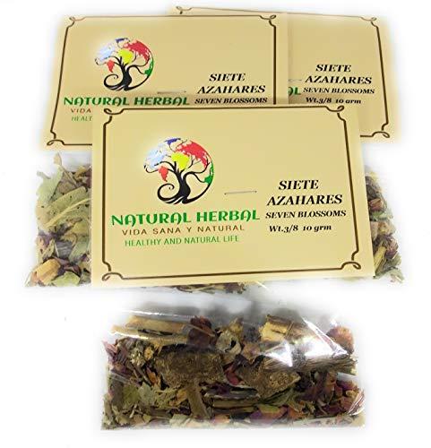 Siete Azares Hierba/Tea (10.6 Grms.)3 Pck