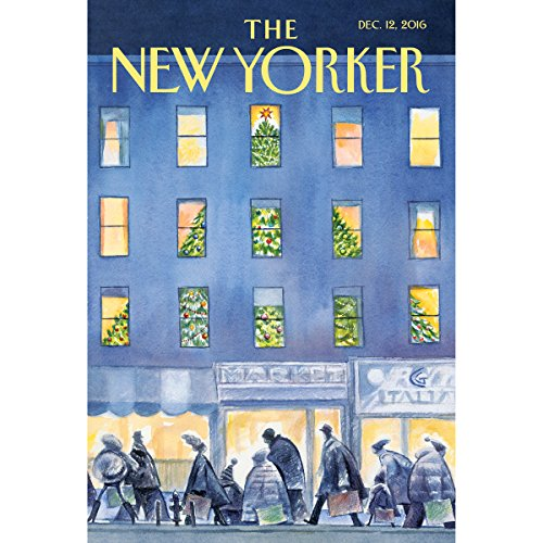 Couverture de The New Yorker, December 12th 2016 (Larissa MacFarquhar, Alexis Okeowo, Jeffrey Toobin)