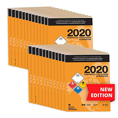 2020 Emergency Response Guidebook (ERG) 25-pk. - English - 4' x 5.5' (Pocket Size), Softbound - J. J. Keller & Associates - Helps Satisfy 49 CFR 172.602 DOT Requirement