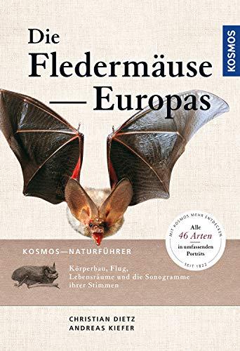 Naturführer Fledermäuse Europas: Alle Arten erkennen und sicher bestimmen