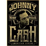 Fymmshop Retro-Poster Johnny Cash Country Music Singer Wall