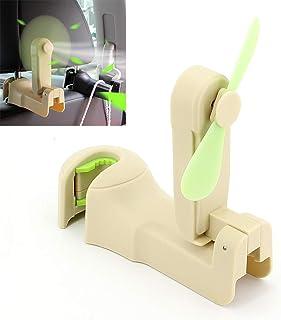 Multifunctional Electric Fan Car Seat Rear Row Hidden Hook Storage Fan Home Rear Seat Car Interior Supplies,2