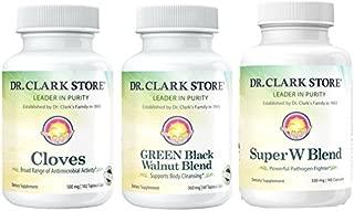 Dr. Clark Green Black Walnut, Wormwood, and Cloves