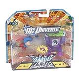 DC Universe 2.25 inch Mini Action League 2-Pack - Superman vs Bizzaro