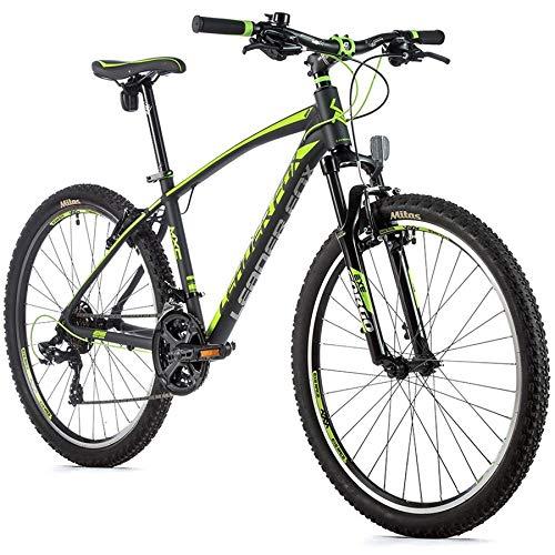 26 Zoll Leader Fox MXC Fahrrad MTB 21 Gang Shimano Rahmenhöhe 36cm schwarz grün