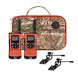 Motorola Talkabout T265 Rechargeable Two-Way Radio Bundle, Orange
