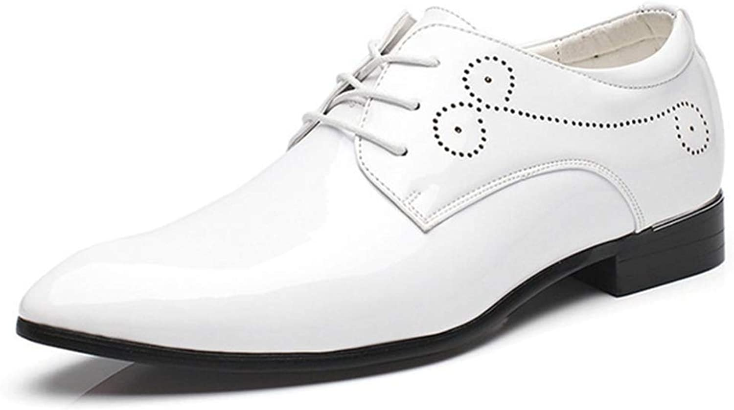 Men Dress shoes Lace-up Wedding Business Party Leather shoes Big Size 38-47