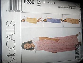 McCall s 9236 10 12 14 Maternity dress & Jumper pattern
