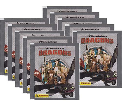 Dragons Panini Chroniken - Sammelsticker - 10 Tüten