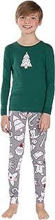 Pijamas Navidad Familia Conjunto Pijama Navideñas Papa Noel de Reno Niños Hombre Mujer Niña Chica Chico Homewear Pantalon Pijamas para Toda La Familia Sudadera Chándal Suéter de Navidad Invierno
