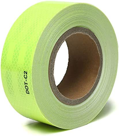 TYLife Reflective Safety Tape DOT C2 Outdoor Safety Tape High Visibility Waterproof Adhesive product image