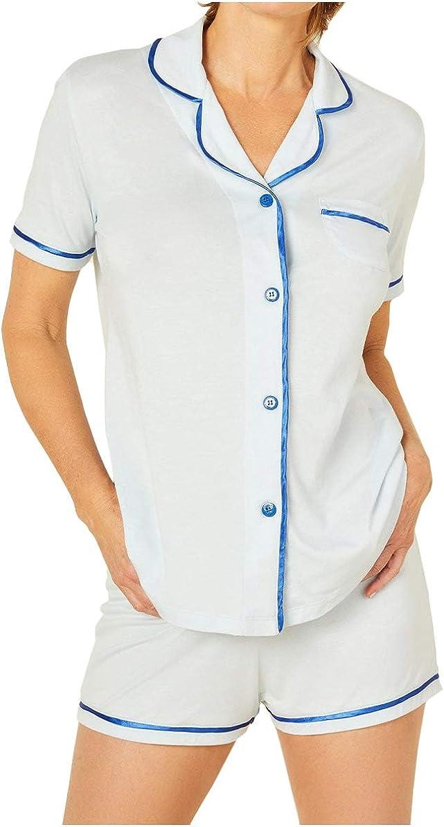 Cosabella Women's Bella Short Sleeve Top & Boxer Set