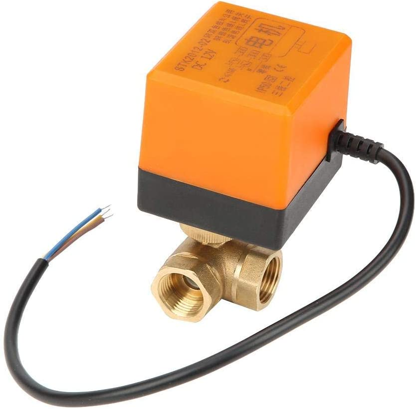 ViewSys DN15 New product type G1 2 Brass 3 Electrical Ball fo Memphis Mall Way Valve Motorized
