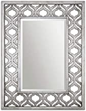 Uttermost Sorbolo Wall Mirror, 30.75 Inch Rectangular Shape - Silver