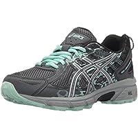 Asics - Gel-Venture 6 - Zapatillas deportivas para mujer, para correr, Gris (Castlerock/Plata/Miel), 39 EU