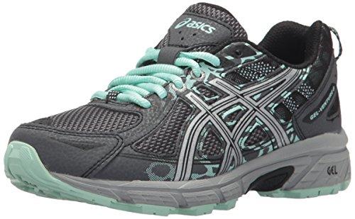 ASICS Women's Gel-Venture 6 Running-Shoes,Castlerock/Silver/Honeydew,8.5 Medium US