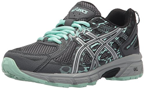 ASICS Women's Gel-Venture 6 Running-Shoes,Castlerock/Silver/Honeydew,9.5 Medium US