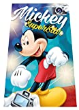 Secaneta Naturcare Manta Polar Disney Mickey Photo, Estampada, 100 x 150 cm,...